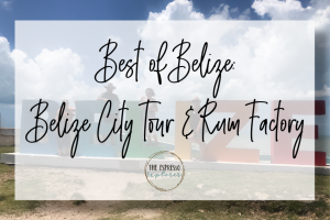 Belize City Tour & Rum Factory