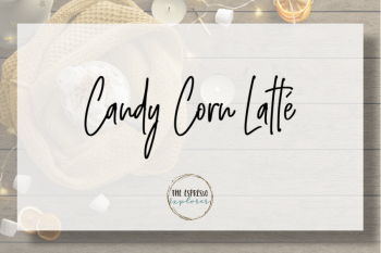 Candy Corn Latté