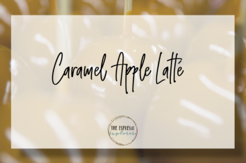 Caramel Apple Latté
