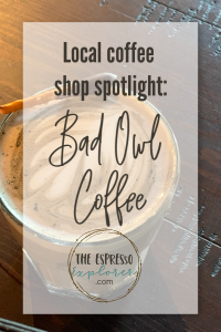 Locals love Bad Owl! This is where you can grab coffee right now in Las Vegas!