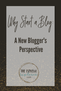 A new blogger's perspective on why starting a blog should be part of your social marketing strategy.