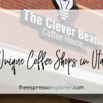 The Clever Bean is a unique coffee shop in Draper, UT serving a simple menu.