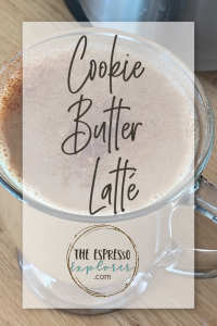 How to make a cookie butter latté without leaving your home.