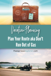 Vacation Planning - how to get around town once you've arrived