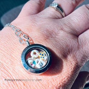 What to buy mom for Mother's Day - Origami Owl coffee lovers locket