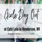 Café Lola, Henderson, NV