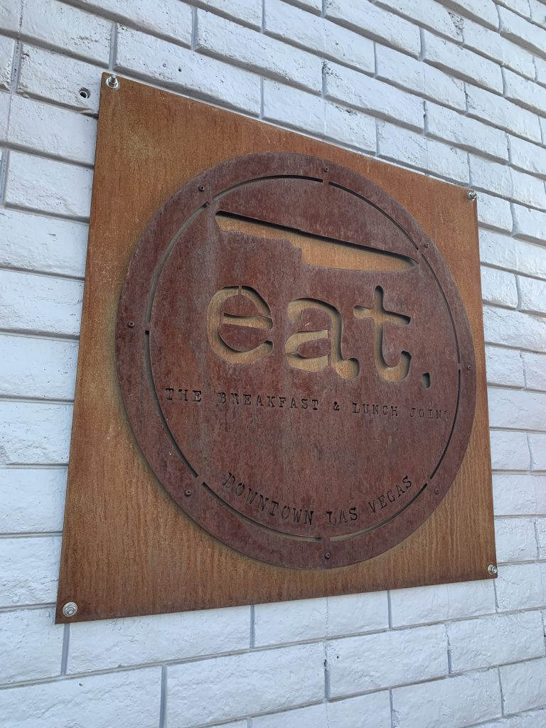Downtown Las Vegas Eat sits closed after donating all available food to those in need.