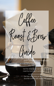 Coffee Roast and Brew Guide by The Espresso Explorer